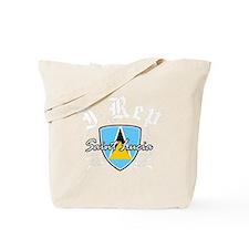 saint lucia1 Tote Bag
