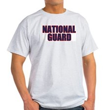 NATIONAL GUARD Ash Grey T-Shirt