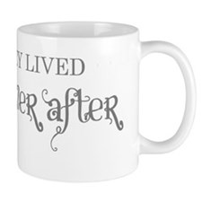 And they lived happily ever after grey Small Mugs