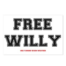 FREE WILLY - WARM WEATHER Postcards (Package of 8)
