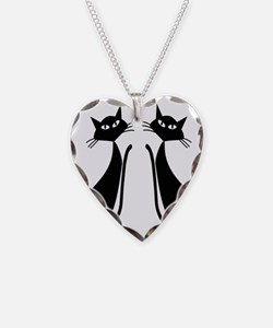 Black Cats Necklace