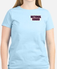 Soldier's Creed, National Gua Women's Pink T-Shirt