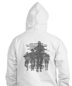 Soldier's Creed, National Gua Jumper Hoody