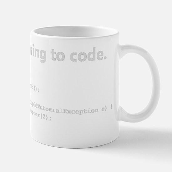 Learning to code Mug