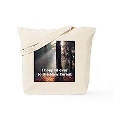 Sun through trees, Brock Hill 3 bunny Tote Bag