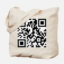 911 Christ QR Code - With Heart Tote Bag
