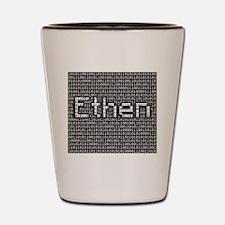 Ethen, Binary Code Shot Glass