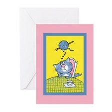 Cute Cat get well Greeting Cards (Pk of 10)