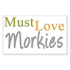mustlovemorkies_black Decal