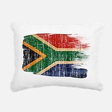 South Africatex3-paint s Rectangular Canvas Pillow