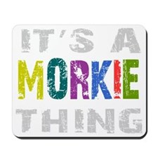 morkiething_black Mousepad