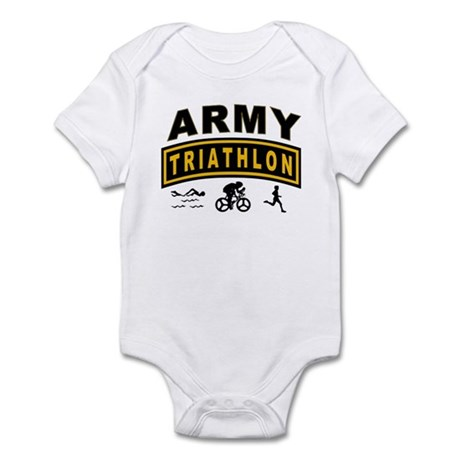 Army Triathlon Tab Infant Bodysuit