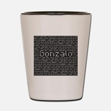 Gonzalo, Binary Code Shot Glass