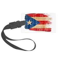 Puerto Ricotex3-paint style aged Luggage Tag