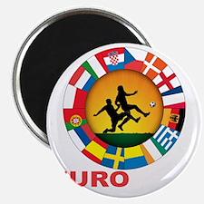 euro 2012 (blk)a Magnet