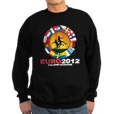 euro 2012 (blk)a Sweatshirt