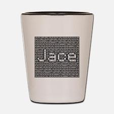 Jace, Binary Code Shot Glass
