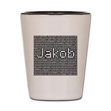 Jakob, Binary Code Shot Glass