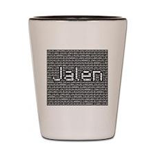 Jalen, Binary Code Shot Glass