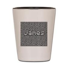 Jamel, Binary Code Shot Glass