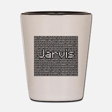 Jarvis, Binary Code Shot Glass