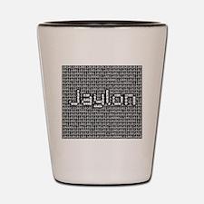 Jaylon, Binary Code Shot Glass