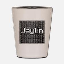 Jaylin, Binary Code Shot Glass