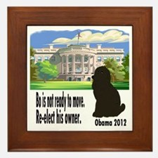 Bos Not Ready To Move Framed Tile