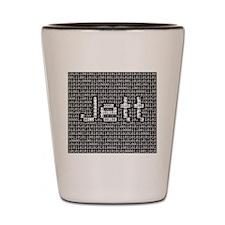 Jett, Binary Code Shot Glass