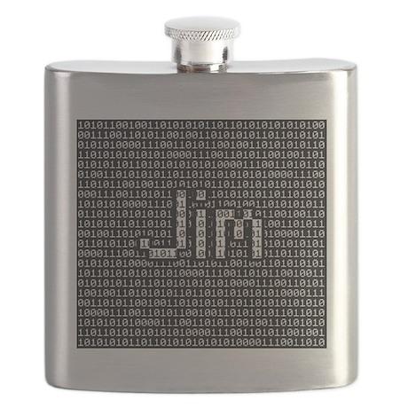 Jim, Binary Code Flask