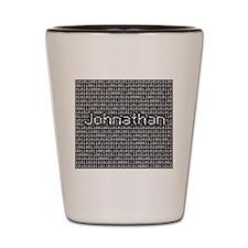 Johnathan, Binary Code Shot Glass