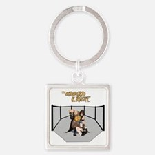The Ground Knight Square Keychain