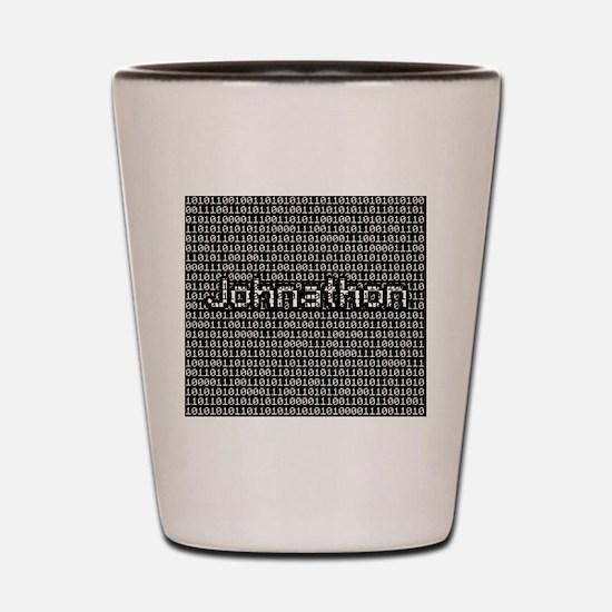 Johnathon, Binary Code Shot Glass