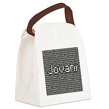 Jovani, Binary Code Canvas Lunch Bag