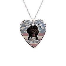 bark_obama_sticker Necklace