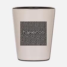 Kameron, Binary Code Shot Glass
