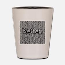 Kellen, Binary Code Shot Glass