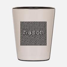 Kason, Binary Code Shot Glass