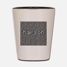 Karson, Binary Code Shot Glass