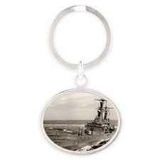 mississippi cgn rectangle magnet Oval Keychain