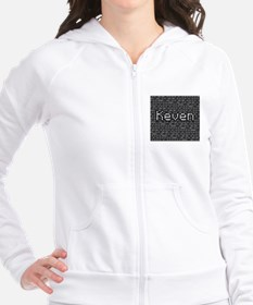 Keven, Binary Code Fitted Hoodie
