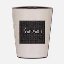 Keven, Binary Code Shot Glass