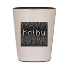 Kolby, Binary Code Shot Glass
