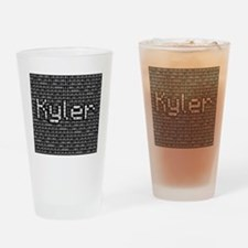 Kyler, Binary Code Drinking Glass