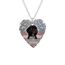 bark_obama_button Necklace