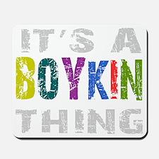boykinthing_black Mousepad