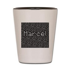 Marcel, Binary Code Shot Glass