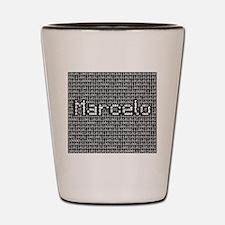 Marcelo, Binary Code Shot Glass