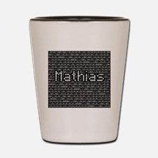 Mathias, Binary Code Shot Glass