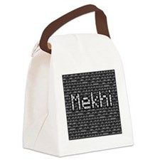 Mekhi, Binary Code Canvas Lunch Bag